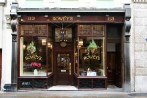 Rowley's Restaurant Exterior
